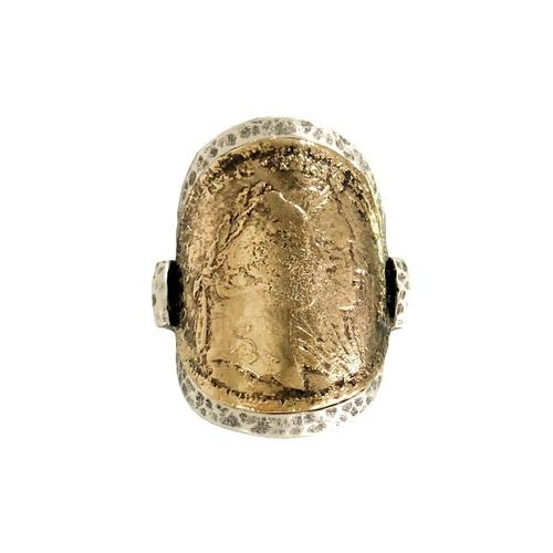 Theresa Coin Rounded Ring