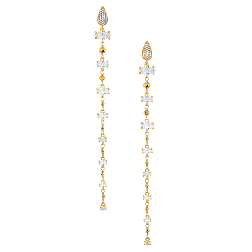 Clear Duster Earrings