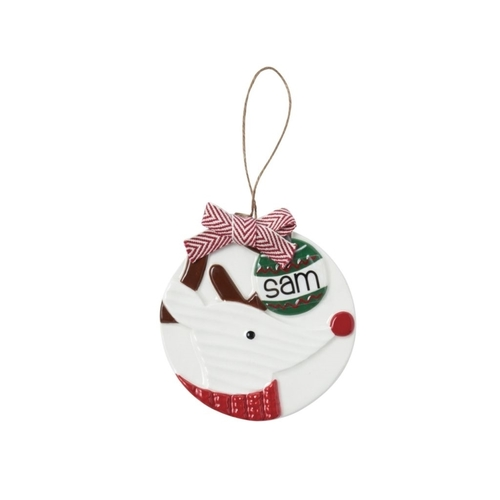 Reindeer Personalized Ornament