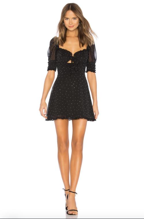 Lucky Dice Mini Dress