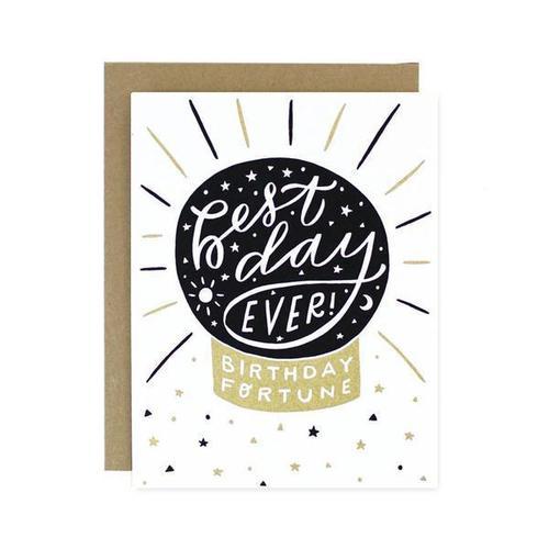 Birthday Fortune Card