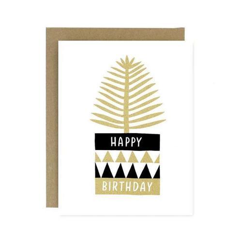 Happy Birthday Plant Card