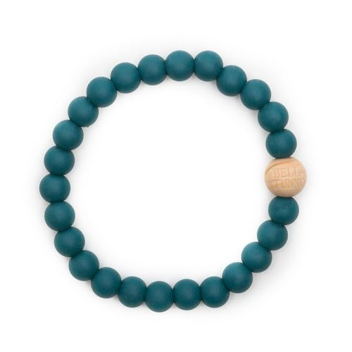 Toby Teal Teething Bracelet