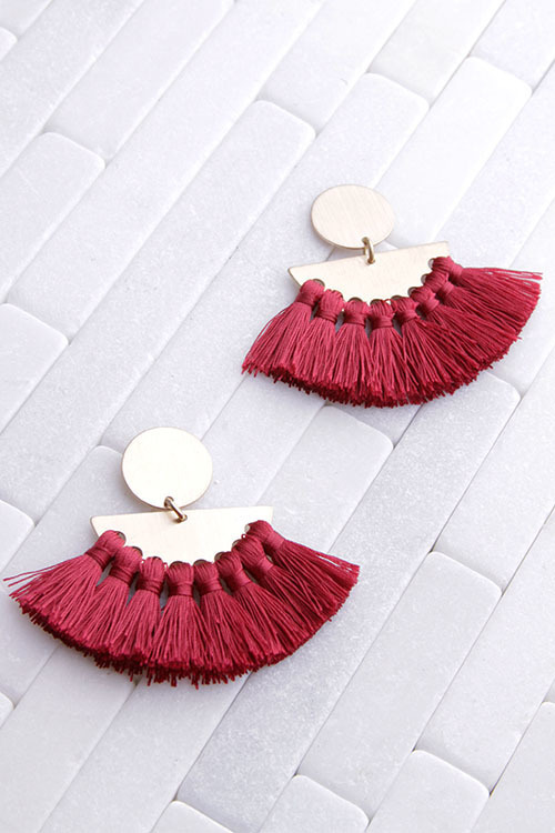 Statement Tassel Dangle