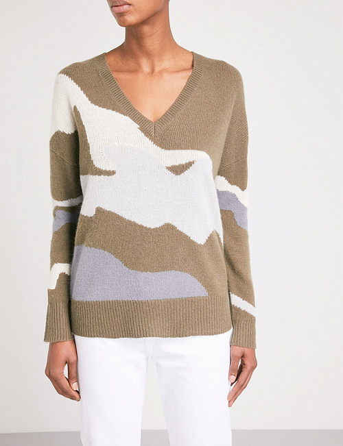 Zuleika Sweater Dove/ Metallic