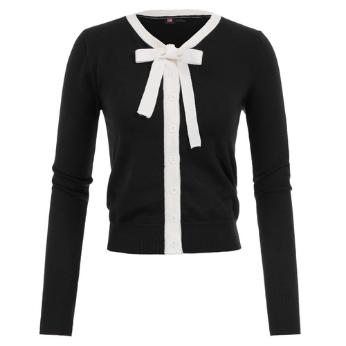 Dolly Tie Cardigan (2 colors)