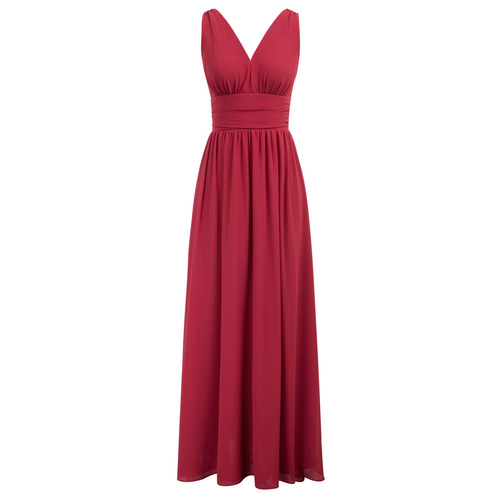 Amber Maxi Dress (Berry or Black)