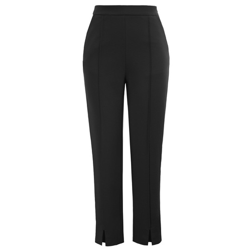 Hepburn high waisted slacks (Black or Berry)