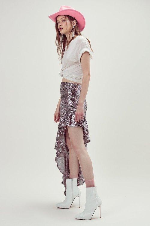 8086e5e13d Showtime Maxi Skirt By For Love & Lemons   Piajeh Boutique   Newport Beach,  Orange County