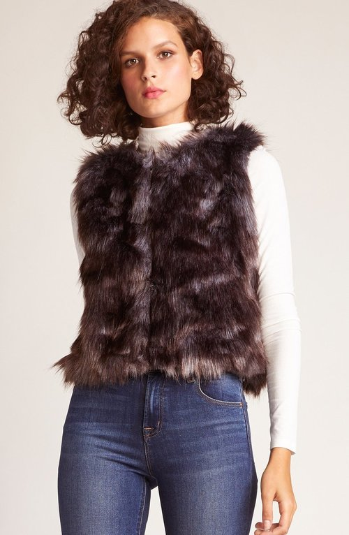 Foxy Lady Faux Fur Vest