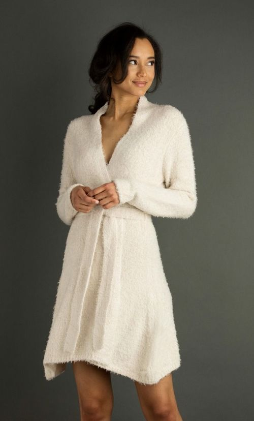 Chenille Towel Robe
