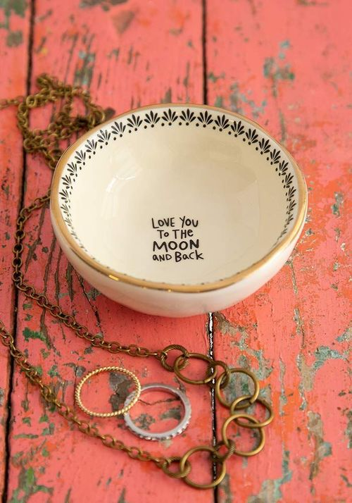 Moon and Back Trinket Dish
