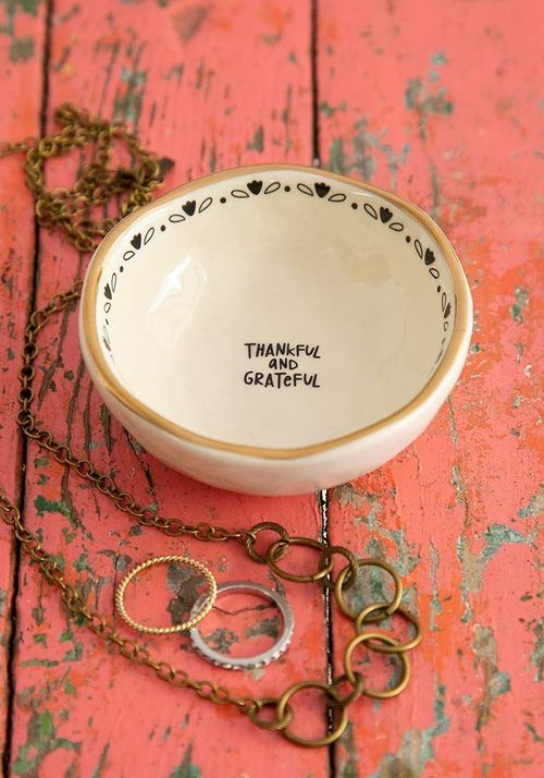 Thankful Trinket Bowl