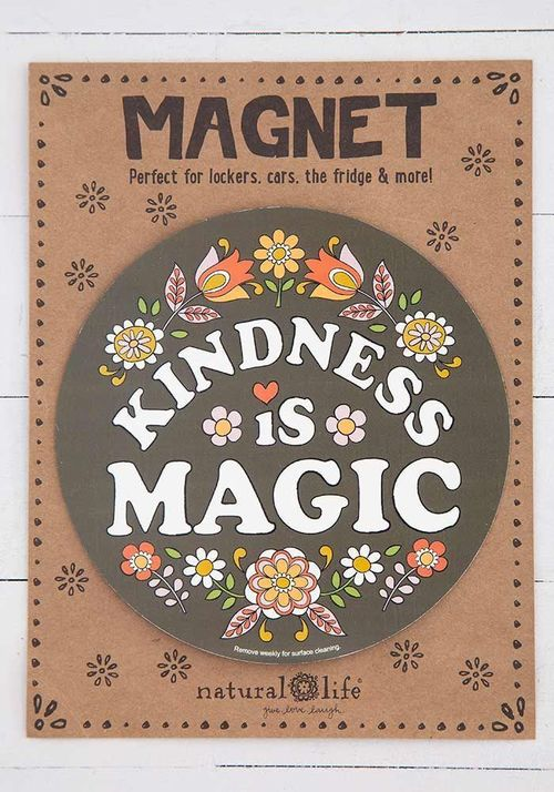 Kindness is Magic Car Magnet
