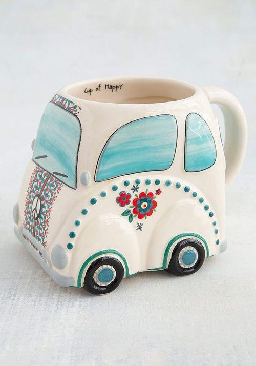 Folk Mug Car