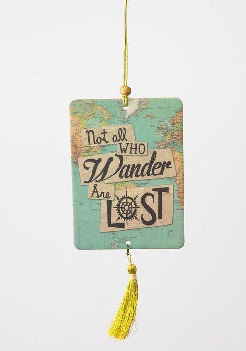Not All Wander Air Freshner