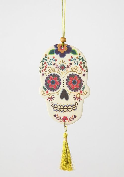 Sugar Skull Air Freshner