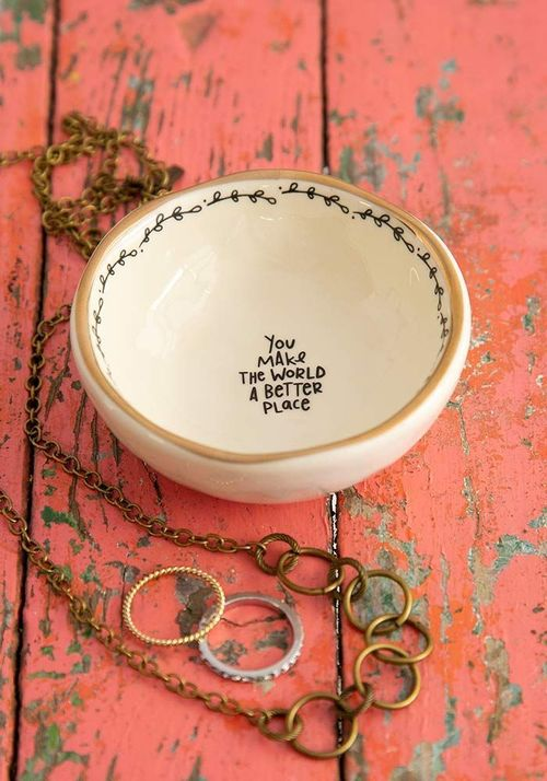 World Better Trinket Bowl