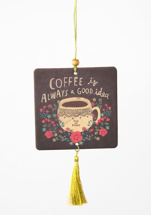Coffee is Good Air Freshner