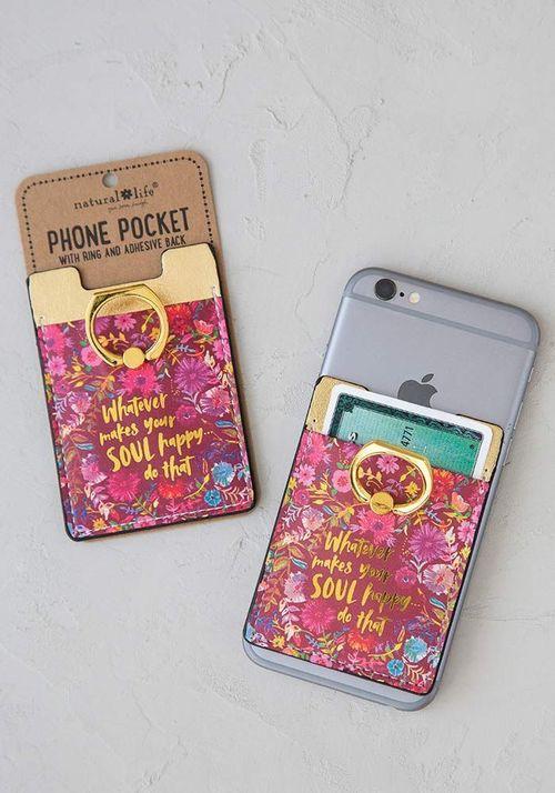 Soul Happy Phone Pocket