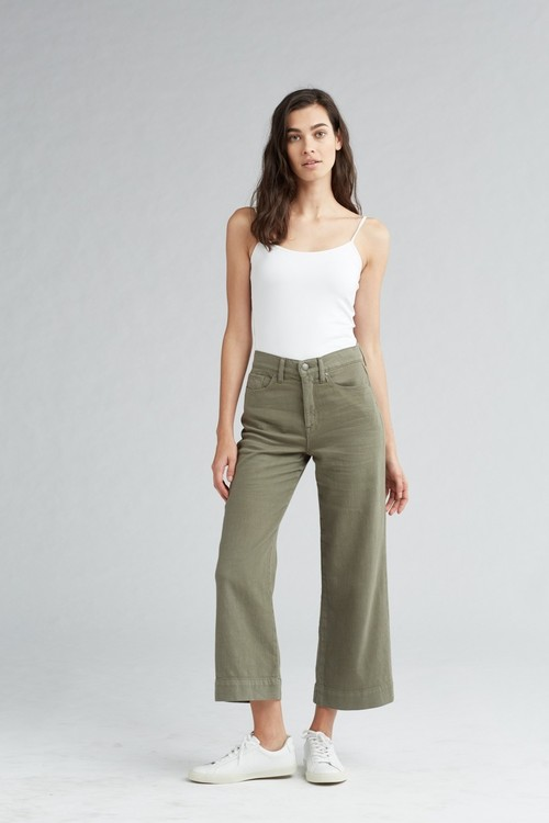 Holly High Rise Wide Leg Crop