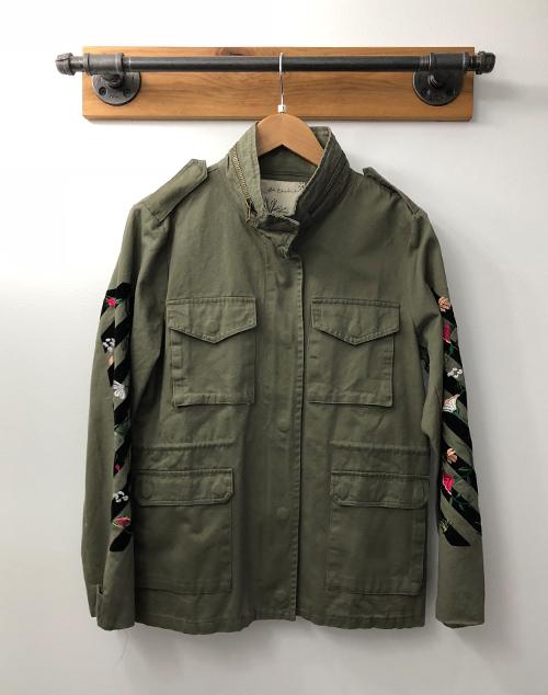 Cargo Embridered Jacket
