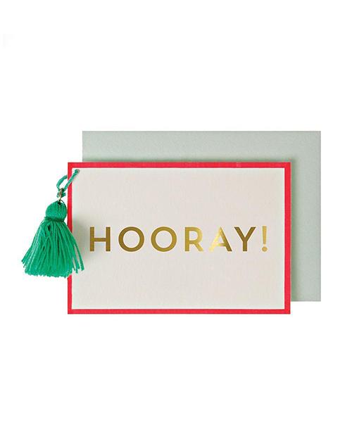 Horray Small Card
