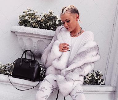 Arctic White Faux Fur Cropped Coat