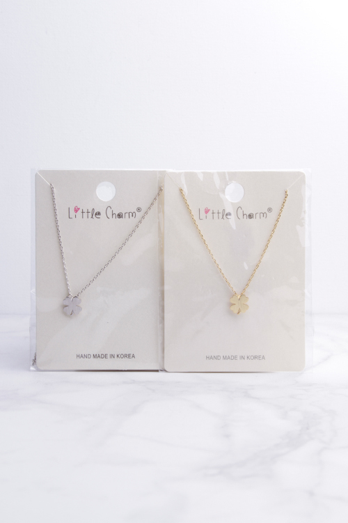 Clover Necklace- Gold