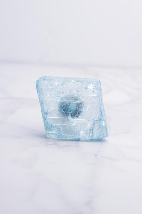 Blue Calcite Knob