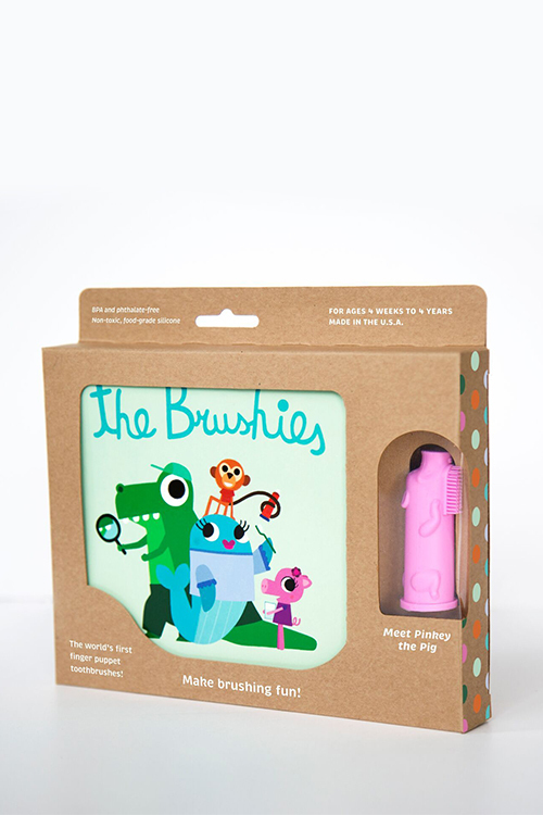 Pinkey The Pig & Brushies Book