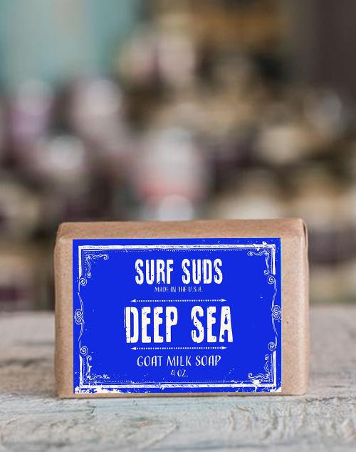 Surf Suds Goat Milk & Oat Soap - Deep Sea