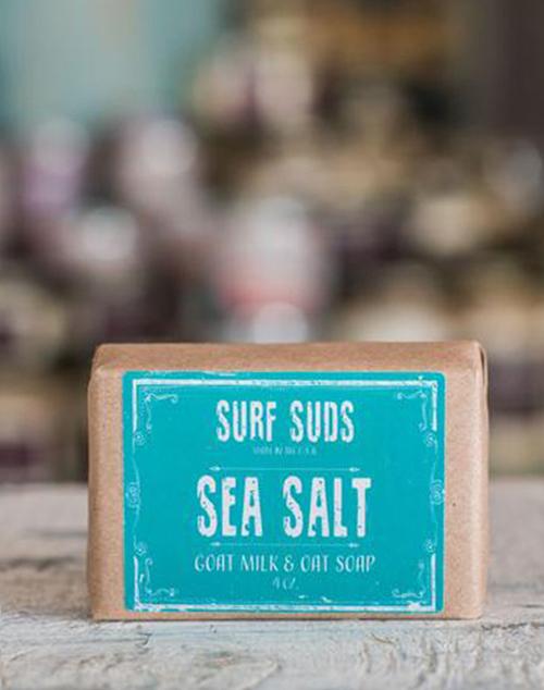 Surf Suds Goat Milk & Oat Soap - Sea Salt