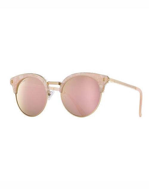 Skye Polarized Pink Pearl Sunglass