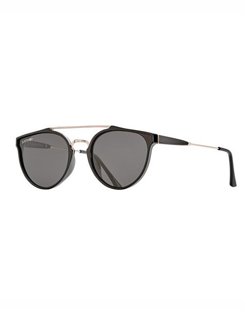 Romi Polarized Black Onyx Smoke Lens Sunglass