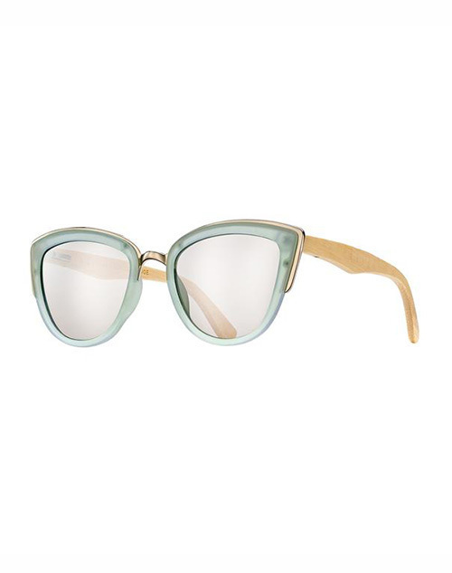 Bailey Frost Lt Blue Silver Mirror Sunglass