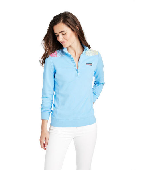 Vineyard Vines Patchwork Shoulder Shep Shirt
