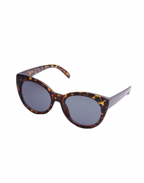 Round Cat Eye Sunglass