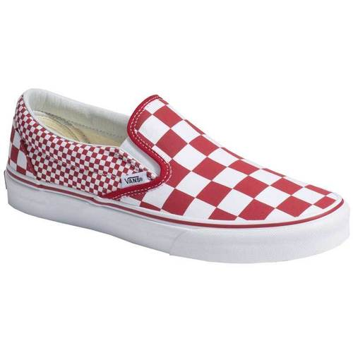 Vans UA Classic Slip-On (MIX CHECKER) Chili pepper