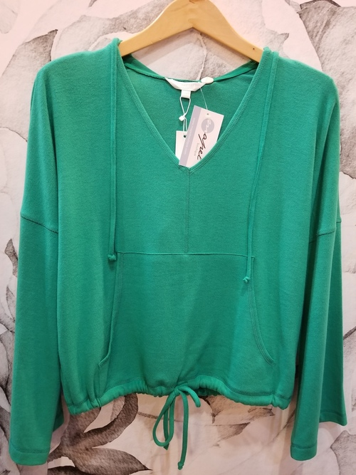 Seeing Green Pepper Drawstring Hoodie