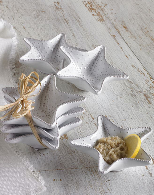 Starfish Mini Dip Cup Set