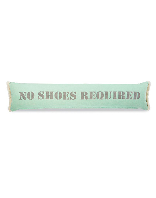 No Shoes Skinny Pillow