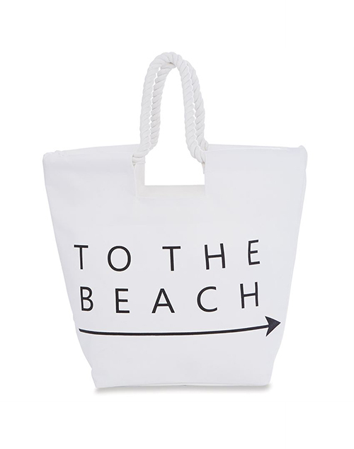 Canvas Beach Tote Beach