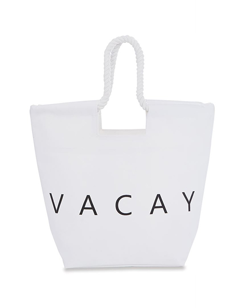 Canvas Beach Tote Vacay