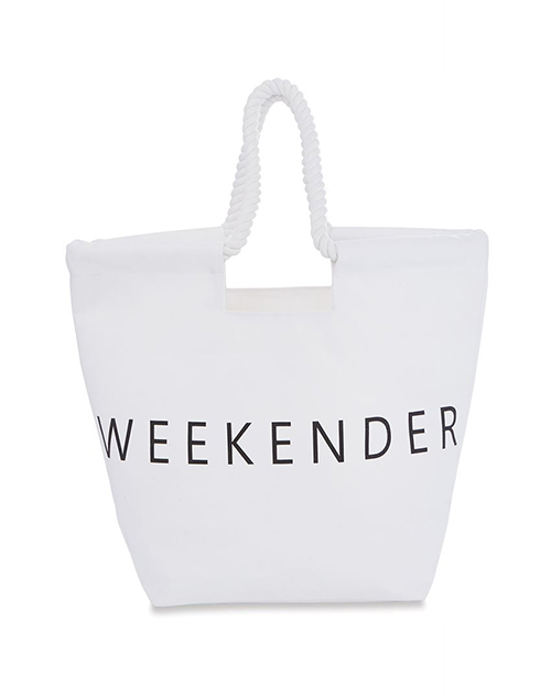 Canvas Beach Tote Weekender