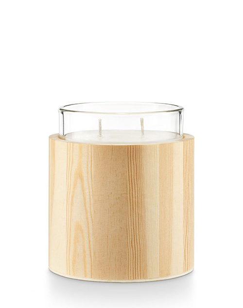 Mountain Rain Zen Large Glass Candle