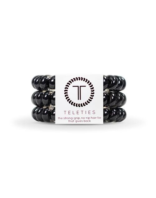 Teleties 3 Pack Large - Jet Black