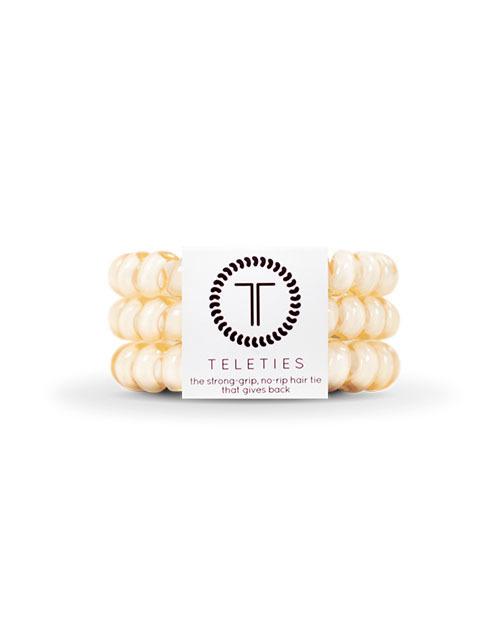 Teleties 3 Pack Large - Almond Beige
