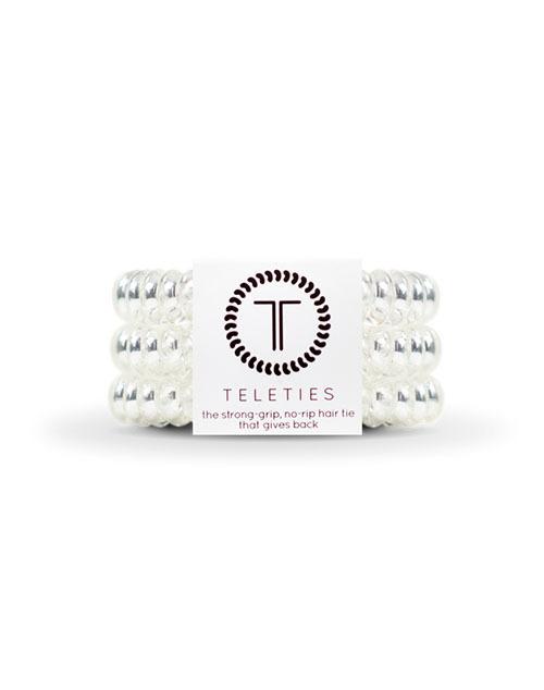 Teleties 3 Pack Large - Crystal Clear