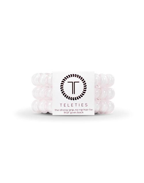 Teleties 3 Pack Large - Rose Water Pink